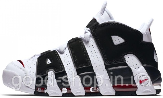 "Мужские кроссовки Nike Air More Uptempo ""White/Black"" (люкс копия)"