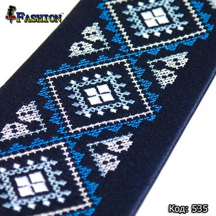 Стильна вишита краватка Маркіян, фото 2
