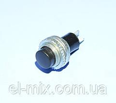 Кнопки без фіксації DS-314 чорна 1-група OFF-(ON), Daier