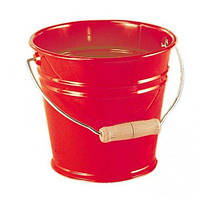 Ведро металлическое nic красное (NIC535054)