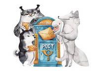 """Открытка """"Лесная почта"""""""