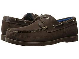 Мокасины (Оригинал) Timberland Piper Cove Leather Boat Shoe Dark Brown Nubuck