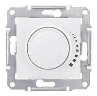 Светорегулятор индуктивный поворотно-нажимной 25-325 Вт/ВА Sedna Белый (Шнейдер Электрик Седна), фото 1