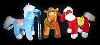 Детская мягкая игрушка Лошадка 22 см плюшевые игрушки для детей