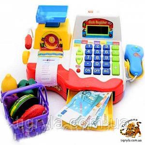 Кассовый аппарат детский игровой набор Касса детская Игрушка магазин детский игровой набор весела крамничка