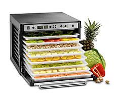 Дегидратор сушилка для овощей и фруктов  SEDONA  COMBO SD-P9150, 9 подносов из пластика, черный