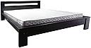 Ліжко півтораспальне в спальню, дитячу Сакура (Бук)140*200Неомеблі, фото 2