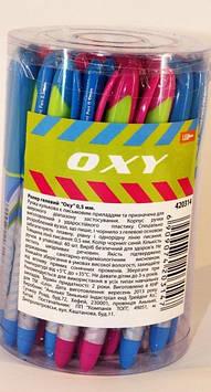 Ручка гелевая синяя 420314 (40шт) Leo