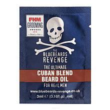 Пробник масла для бороды The Bluebeards Revenge Cuban Blend Beard Oil Sachet 3 ml
