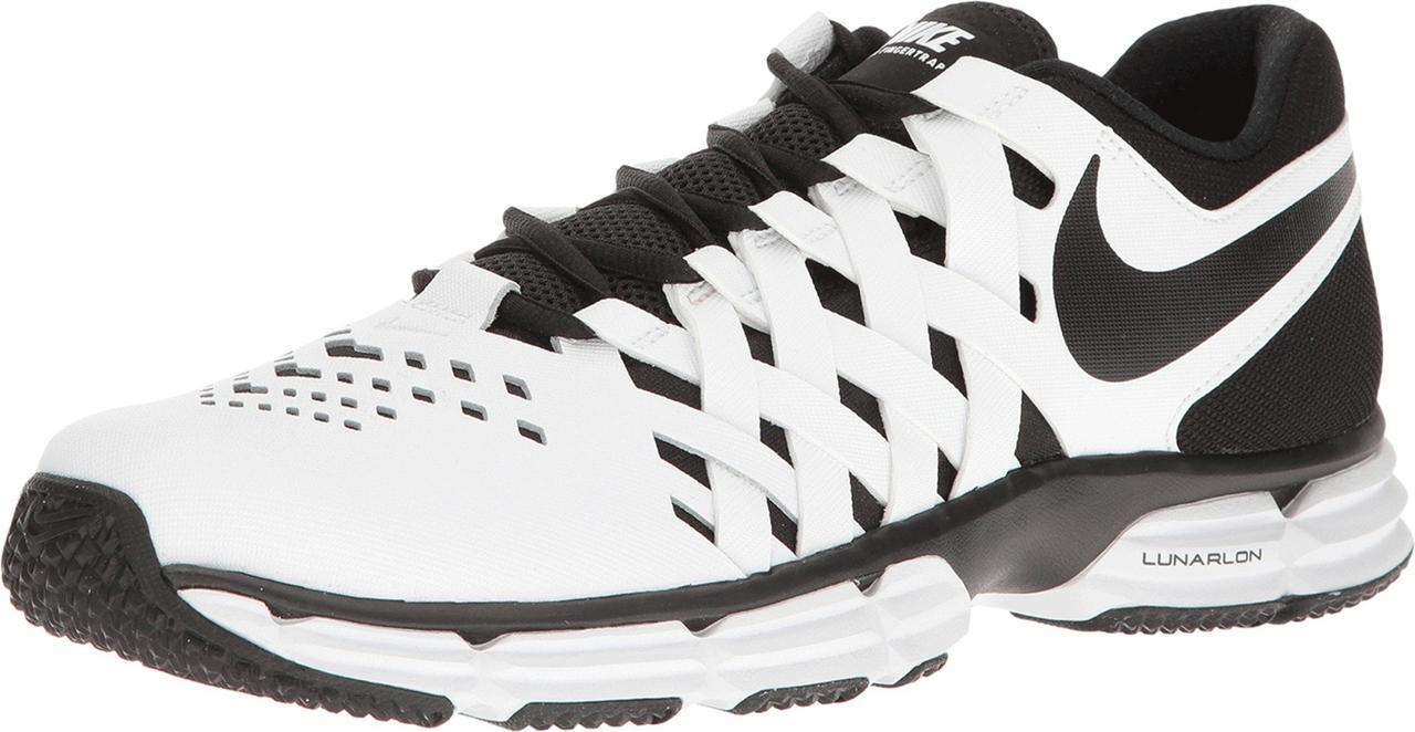50de1f02b703 Кроссовки Кеды (Оригинал) Nike Lunar Fingertrap TR White Black ...