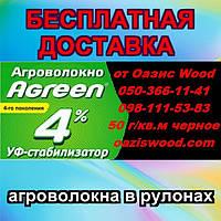 Агроволокно черное мульчирующее― для защиты грядок от сорняков. AGREEN, Premium Agro.