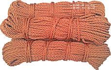 Канат капроновый, ø 3 мм х 50 метровкордовый , трех прядный, из кордовых нитей