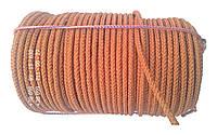 Веревка капроновая  ø 6 мм х 100 метров в мотке (шнур плетеный кордовый)