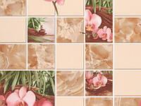 Обои влагостойкие мойка Орхидея 8124-02 коричневый