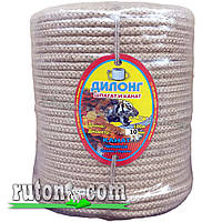 Веревка джутовая плетеная 10мм-100м-бухта-Украина