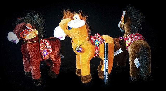 Мягкая детская игрушка Лошадь 24 см на подарок игрушки для детей, фото 2