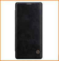 Кожаный чехол-книжка Nillkin Qin Series для Samsung Galaxy Note 8 SM-N950F Black