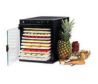 Дегидратор сушилка для овощей и фруктов  SEDONA  Express SD-6280, 11 подносов из пластика, черный