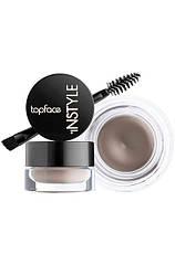 Гель для бровей для фиксации и цвета Topface Instyle Eyebrow Gel кремовый PT551 № 01-Ash Brown