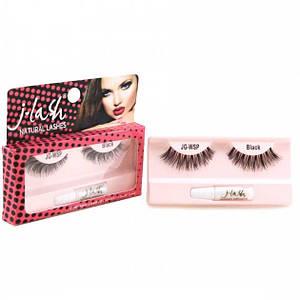 Накладные ресницы с клеем J-Lash Glamour Eyelashes WSP