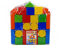 Кубики конструктор замок 26 деталей