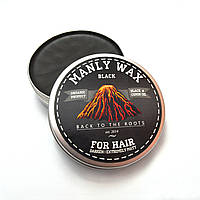 "Воск для волос MANLY WAX ""black"", 100 мл"