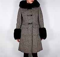 Пальто-пуховик Moncler, фото 1