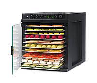 Дегидратор сушилка для овощей и фруктов  SEDONA  Express SD-6780, 11 подносов из нержавейки, черный