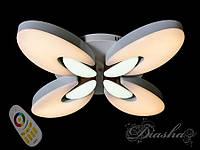 Светильник с регулируемым цветом свечения и цветной подсветкой 50W 6012-4RGBDIM