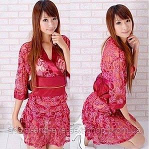 РАСПРОДАЖА! Розовое полупрозрачное кимоно