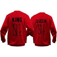 Парные кофты KING/QUEEN 01
