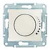 Светорегулятор индуктивный поворотно-нажимной 25-325 Вт/ВА Sedna (Шнейдер Электрик Седна) Слоновая кость