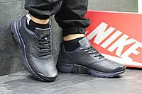 Мужские кроссовки найк Nike Air Presto  темно-синие -Прескожа ,подошва пенка,размеры 41-46 Индонезия