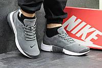 Мужские кроссовки найк Nike Air Presto серые - Замша,подошва пенка,размеры 41-46 Индонезия