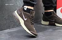 Мужские кроссовки найк Nike Air Presto коричневые - Замша,подошва пенка,размеры 41-46 Индонезия