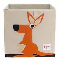 Коробка для хранения 3 sprouts кенгуру
