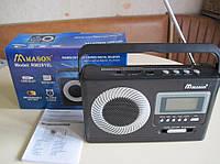 Радиоприемник от сети и аккумулятора с USB, SD и цифровым дисплеем