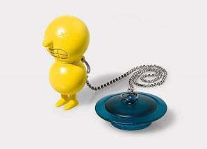 Заглушка для ванны Г-на. Suicide розовая, фото 2