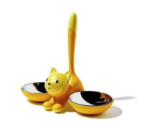 Мисочки для кошек Tigrito желтые, фото 2