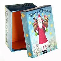 Подарочная коробка Санта Merry Christmas 11 х 8 х 5,5 см
