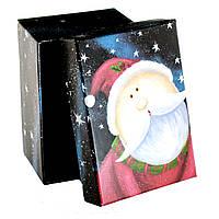 Подарочная коробка новогодняя Дед Мороз в Новогоднюю ночь 11 х 8 х 5.5 см