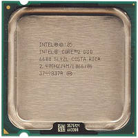 Процессор Intel Core2 Duo E6600 2.40GHz/4M/1066 s775, tray