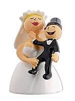Статуэтка фарфоровая украшение свадебного торта Abbracciami amore mio