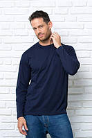 Футболка мужская с длинными рукавами, Лонгслив, JHK T-shirt , Испания, однотонная, 100% хлопок