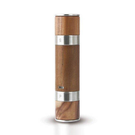мельница для перца и соли двойная деревянная Duomill
