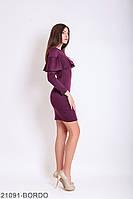 Жіноче плаття  Galea 21091-BORDO XL Бордовий