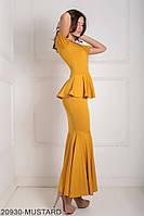 Жіноче плаття  Amalia 20930-MUSTARD S Гірчичний