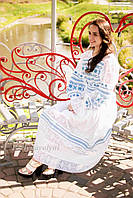 Платье макси СЖ 0091 Сукня Платье на выпускной Сукня з вишивкою Нарядное платье, фото 1