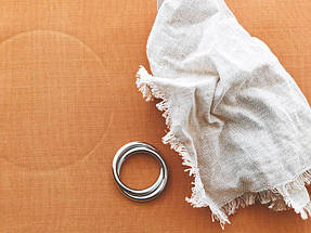 Кольцо для салфеток Oui темная сталь полированная, фото 2