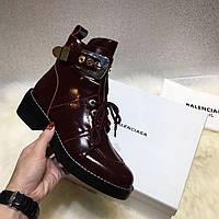 Женские высокие ботинки с пряжкой Balenciaga